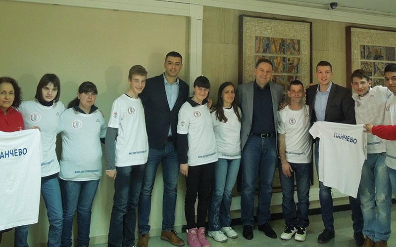 Prijem reprezentativaca Specijalne Olimpijade Srbije kod gradonačelnika